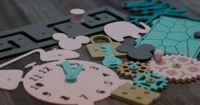 Barvy a materiál pro prvky Activity Board